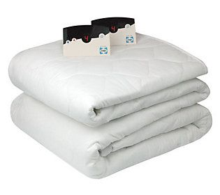 Biddeford Heated Queen Size Mattress Pad