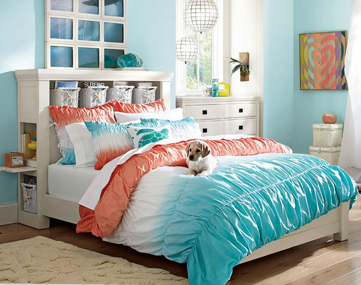 25 best ideas about teenage beach bedroom on pinterest for Blue beach bedroom ideas
