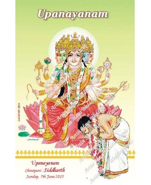 Upanayanam Wishes Greetings Upanayanam Invitations And Thread