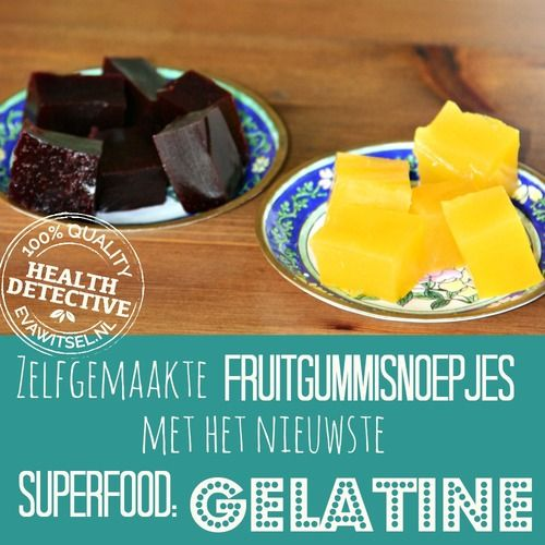 Gelatine, het nieuwste superfood | www.evawitsel.nl