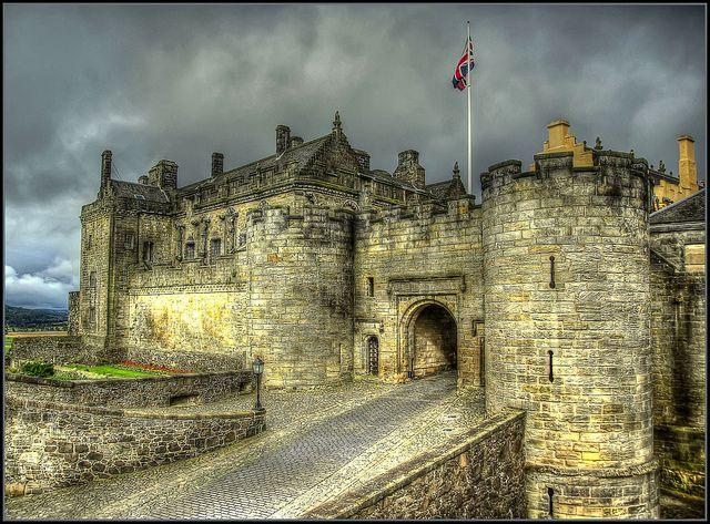 23.3 Stirling Castle in Schotland, een prachtig 'gebouw', hier ben ik deze zomervakantie geweest.