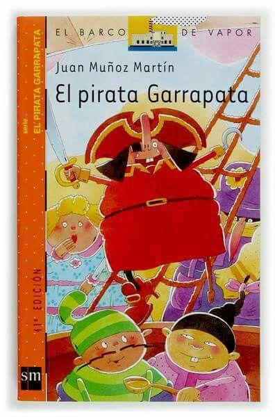 El pirata Garrapata. El barco de vapor