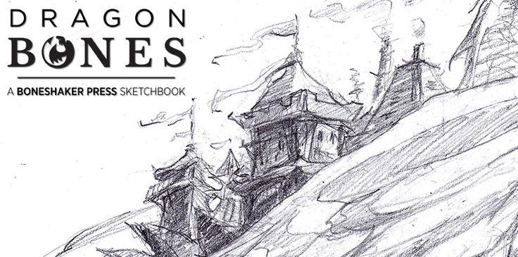 """Dragon Bones:"" Dragons-in-Progress Week #4 – Boneshaker Press"