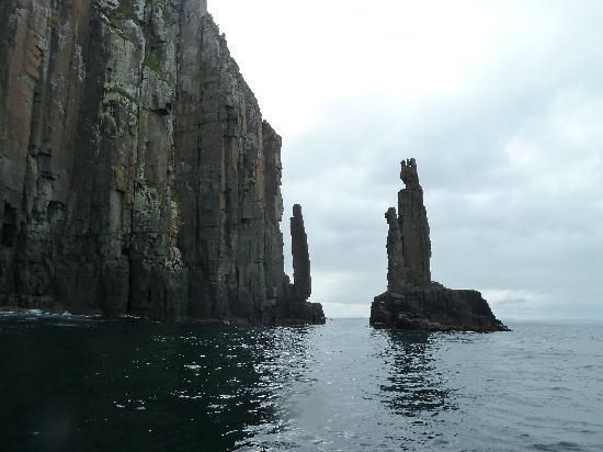 Hobart, Australia: Cliffs #travel Very good  Exciting Nepal We are specialized in Trekking in Nepal, Nepal Tour, Jungle Safari /Rafting in Nepal, Hotel Booking in Nepal, Air Ticketing, Tibet Tour, Bhutan Tour. http://www.excitingnepalholidays.com/
