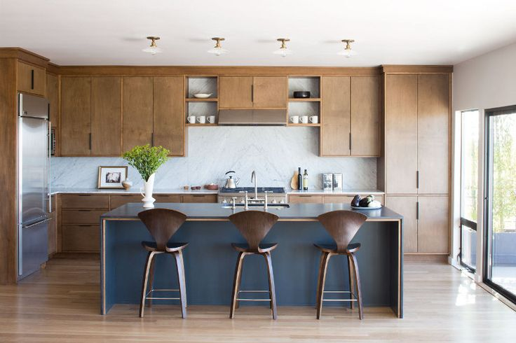 With more than a nod to its mid century bones a thoroughly modern home in Los Feliz Hills, Los ...