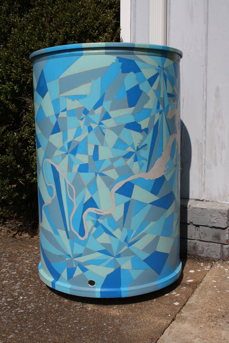 trash & rain barrel art | col.7
