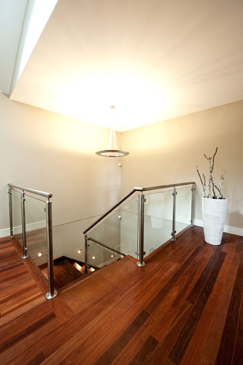 Best Jarrah Timber Glass Balustrade Stainless Steel Posts 400 x 300