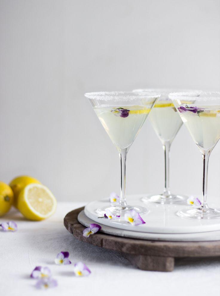 Prosecco limoncello