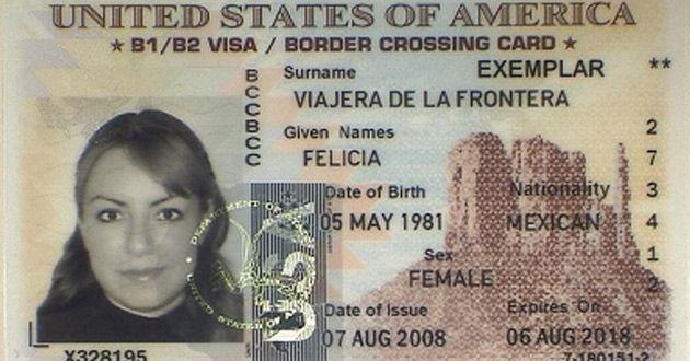 Visa láser americana