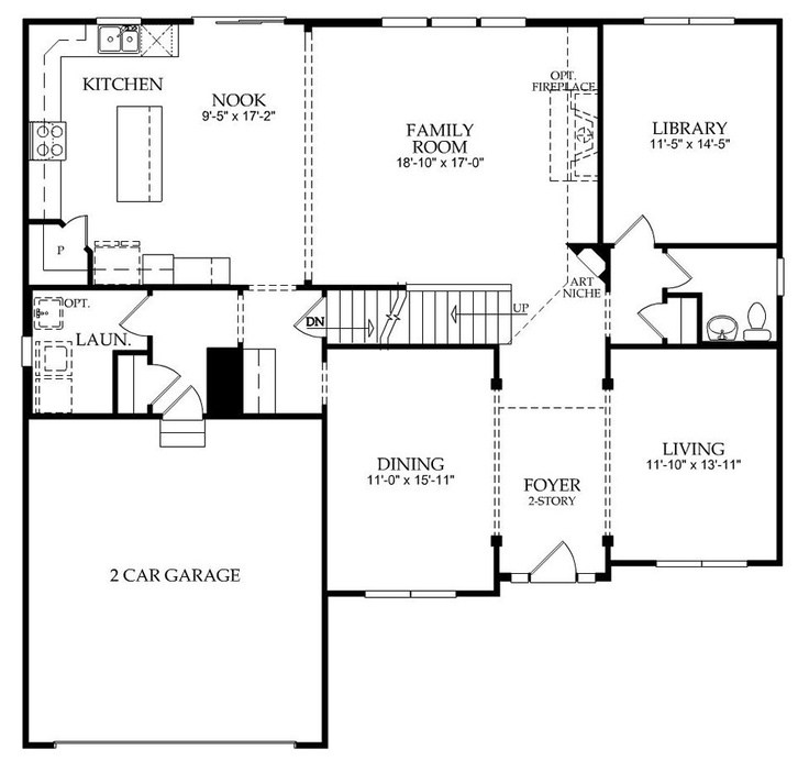 11 best Dream Home images – Pulte Homes Floor Plans