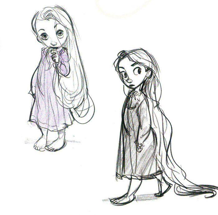Disney Tangled Character Design : Best rapunzel sketch ideas on pinterest drawing