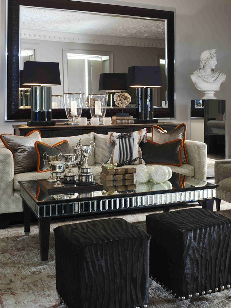 120 best Black and Silver Living Room Ideas images on Pinterest ...