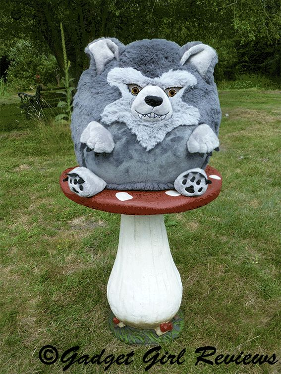 Is he watching you? The Squishable Werewolf Checkout the photoloaded review http://www.gadgetgirlreviews.com/2014/10/the-squishables-werewolf-and-micro-fox.html
