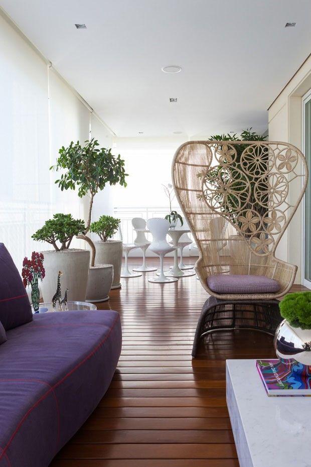 12 ideias para decorar varandas de apartamentos