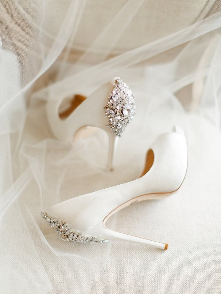Wedding shoes idea; Featured photographer: Rachel May Photography