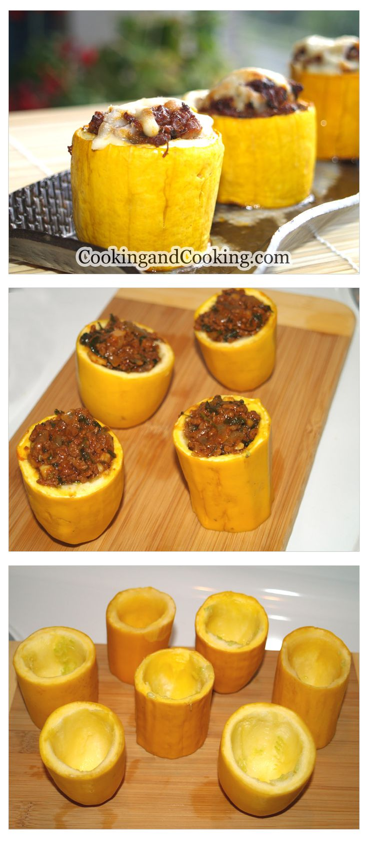 Stuffed Zucchini with Ground Beef Recipe