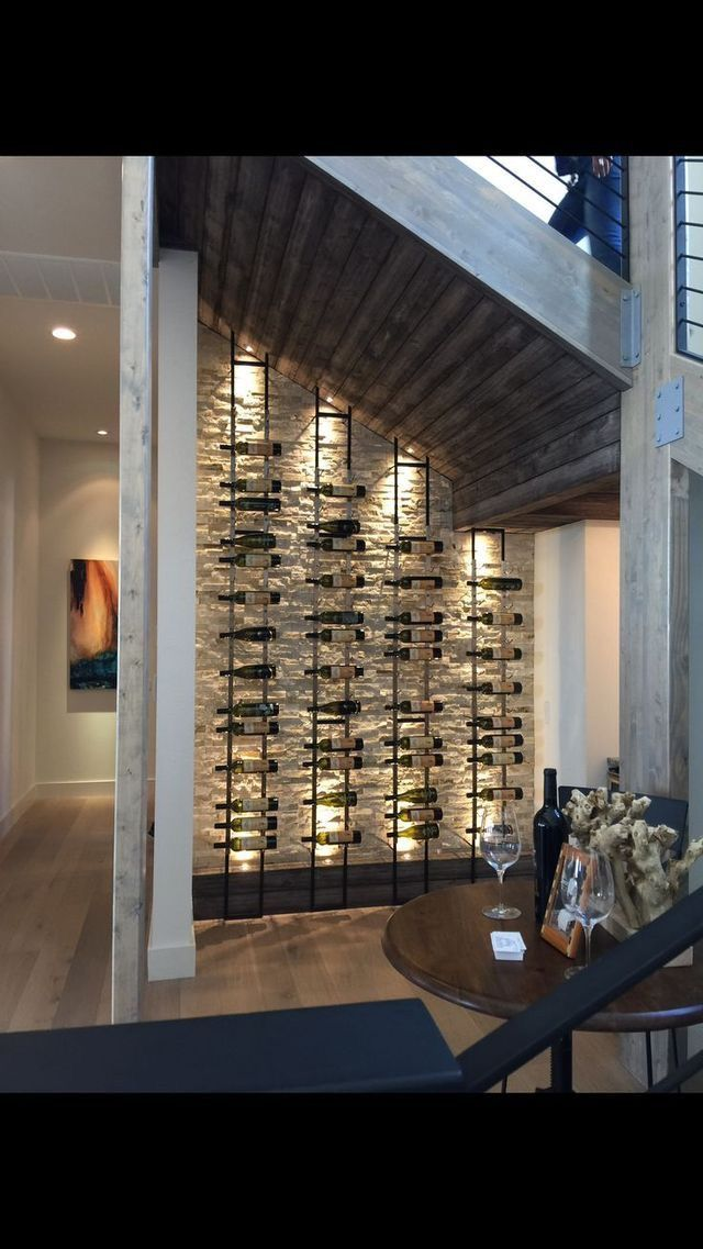 Bonne Idee De Cave A Vin Sous Les Escaliers Decoration Vin