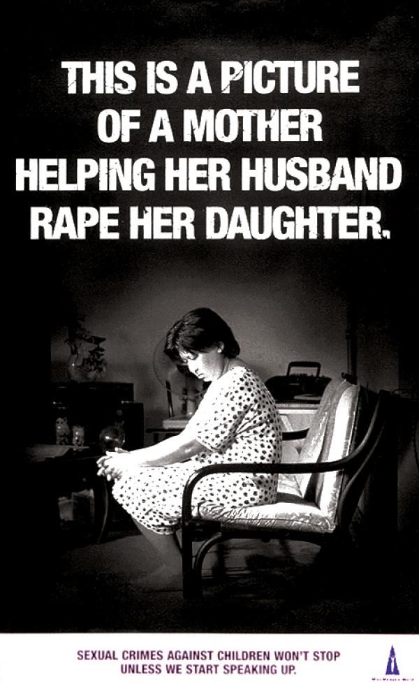 Sexual crimes against children won't stop unless we start speaking up.