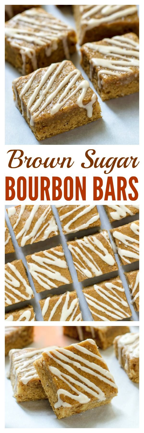 Maple Brown Sugar Bourbon Bars. If you like blondies, you will go crazy for these buttery, melt-in-your mouth bars. Shhhh. These are made with whole wheat flour, but no one will ever know!