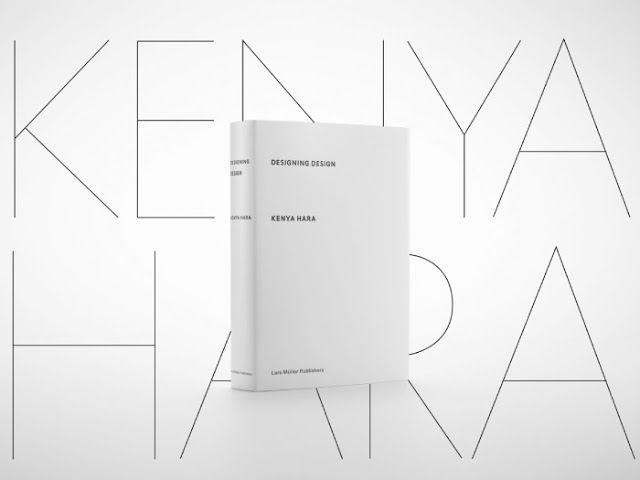 'Designing Design' book by Kenya Hara _