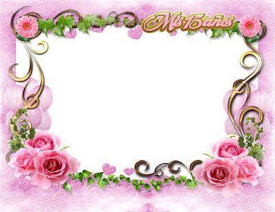 lindo marco para fotos de 15 aos en png photo frames para quinceaneros de candyland pinterest photos and frames
