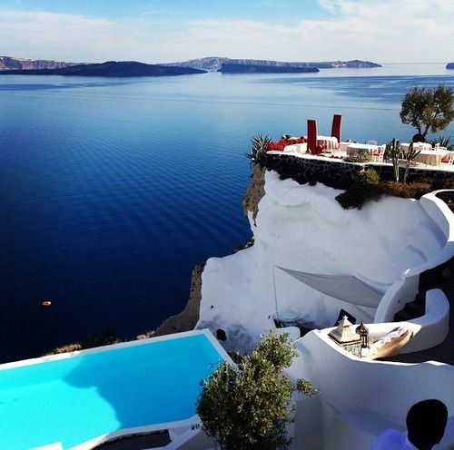 Greek Island - Santorini #holiday #vacations #sea #sun #island #santorini #view #greece