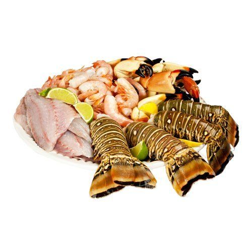 Fresh, Never Been Frozen: Create a seafood feast for four with crab claws, buttery lobster tails, sweet jumbo shrimp and delicate, flaky snapper. Indulge in the freshest fish from