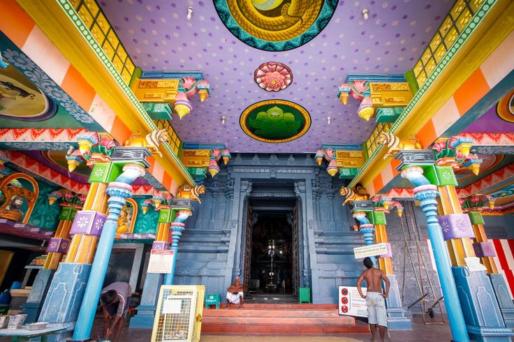 The Nagapooshani Amman Kovil is a colourful Hindu temple located on the island of Nainativu. During the major Hindu Festivals the temple attracts thousands of pilgrims daily, and the temple provides the livelihood for most of the island's residents. The island is easily reached by a local ferry from Kytes Island.
