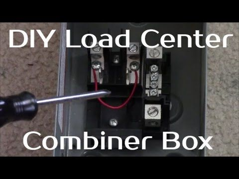 Solar Panel Systems for Beginners - Pt 3 How to Build A Load Center - YouTube