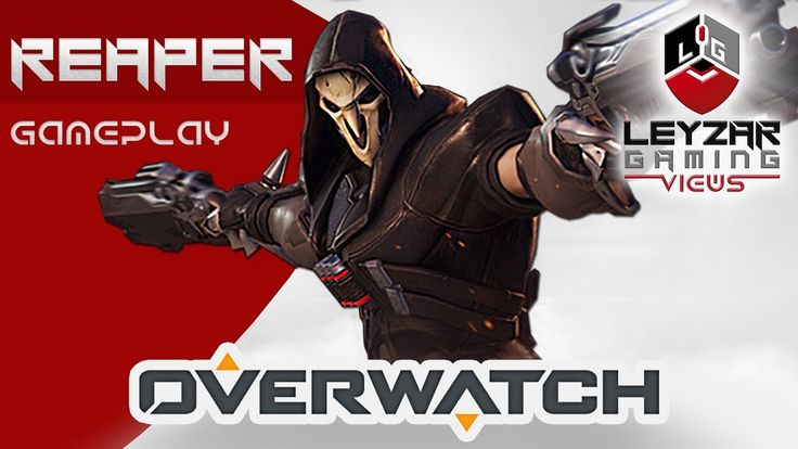 """Overwatch (Gameplay) - New Reaper in  """"Q of the Game"""" (Overwatch Reaper ..."""