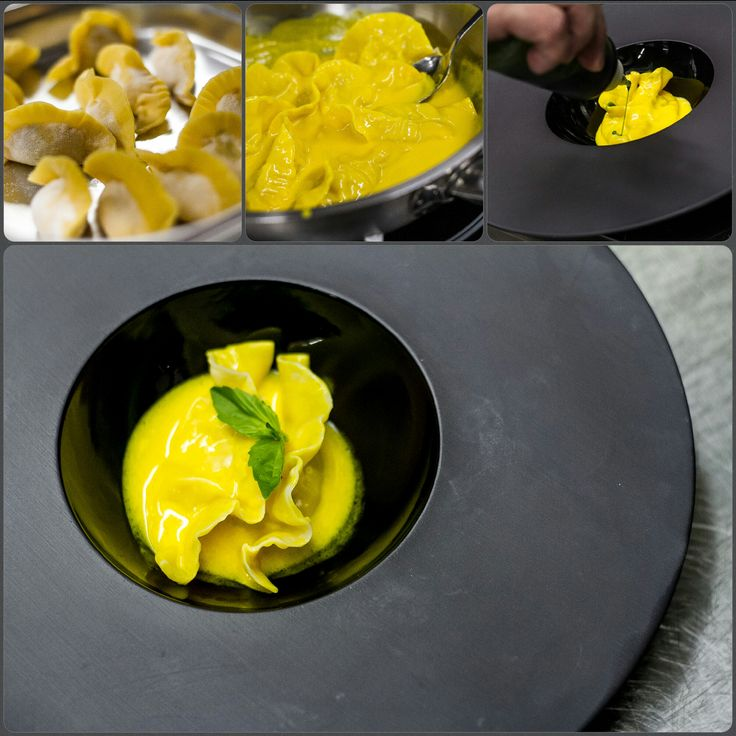 How it is made - Tortellini with curry sauce