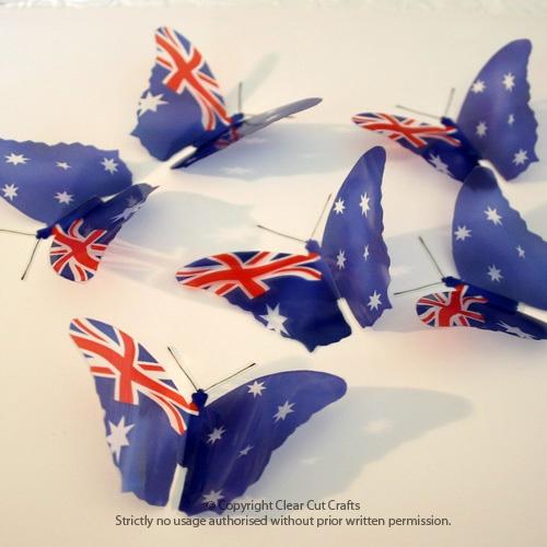 Decoration Ideas - gorgeous Aussie butterflies