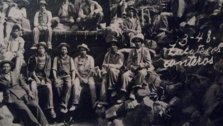 Mi abuelo Alberto Ramirez 1948 Zacatecas in las minas