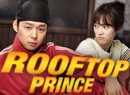 Rooftop Prince is a hilarious time-traveling fusion sageuk about a Joseon era Crown Prince and his minions who end up traveling to the future after the Crown Princess is mysteriously murdered. So far we have hilarious fish-out-of-water storylines and evil family members everywhere.