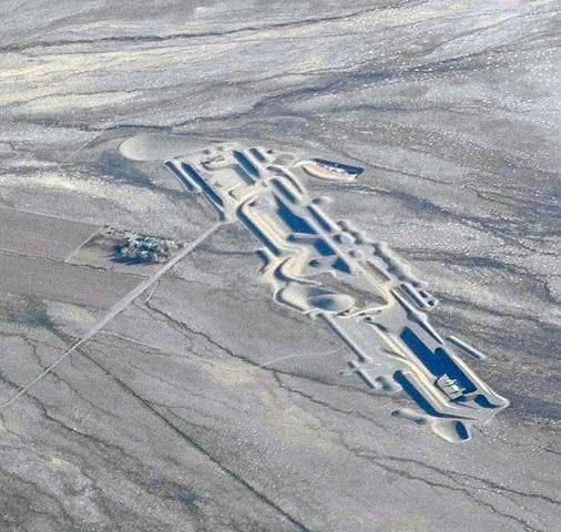 City, Michael Heizer (on-going), Nevada Desert.