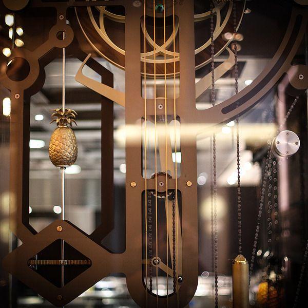 Seymourpowell Creates Bespoke Mechanical Art Piece for Heston Blumenthal's Dinner Restaurant