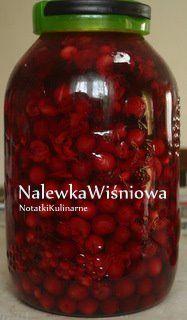 Nalewka wiśniowa