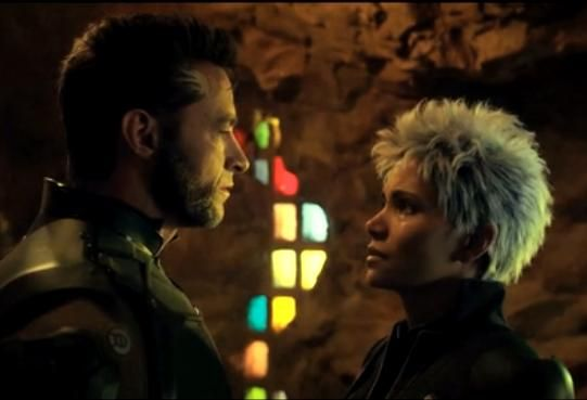 A deleted scene from 'X-Men: Days of Future Past' that shows Storm and Wolverine kissing.