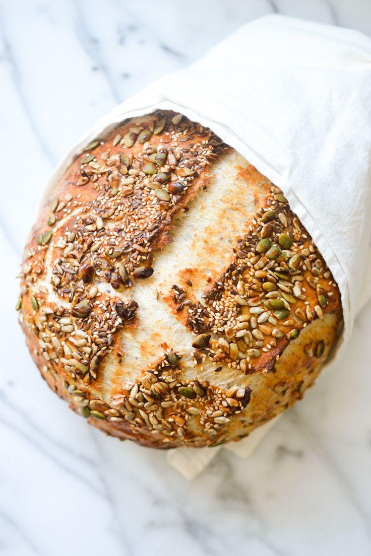 Seedy Artisan Bread