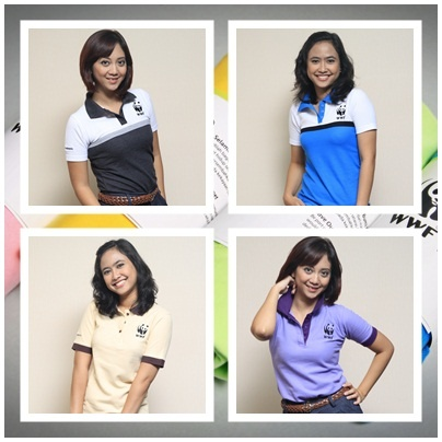 Polo Shirt Combination for Female. IDR 135.000