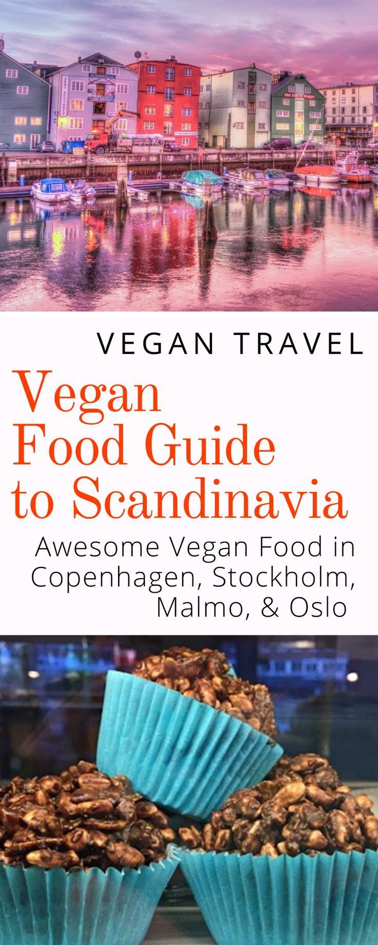 Vegan Guide to Scandinavia: Some of the best vegan food in Stockholm, Copenhagen, Malmo, and Oslo. Click here to discover the best vegan food in Scandinavia.