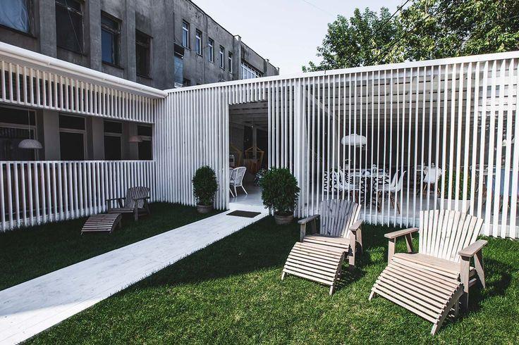 summer cafe design by S.Gorshunov, A. Feoktistova