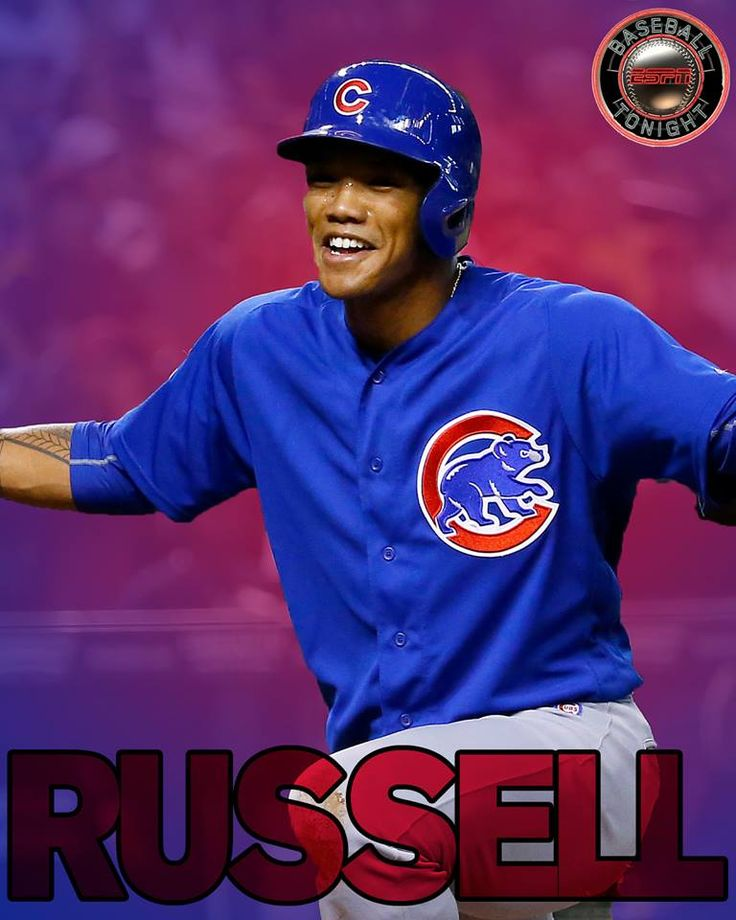 The Chicago Cubs complete the comeback!  Addison Russell comes up with the late 3-run HR to win it for Chicago, 5-3.