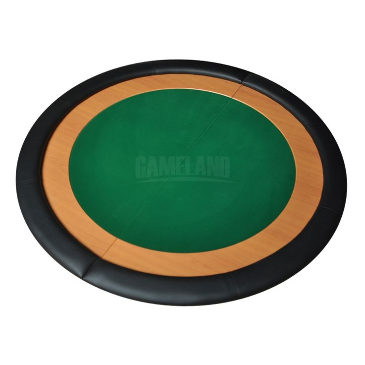 Round Folding Poker Table Tops