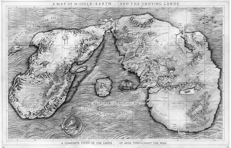 Middle Earth and the Undying Lands