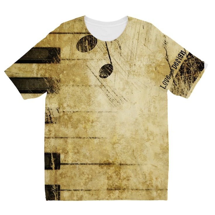 New at love and design today: Love and Design M... - click through http://loveanddesign.com/products/love-and-design-music-and-piano-brand-kids-sublimation-tshirt?utm_campaign=social_autopilot&utm_source=pin&utm_medium=pin