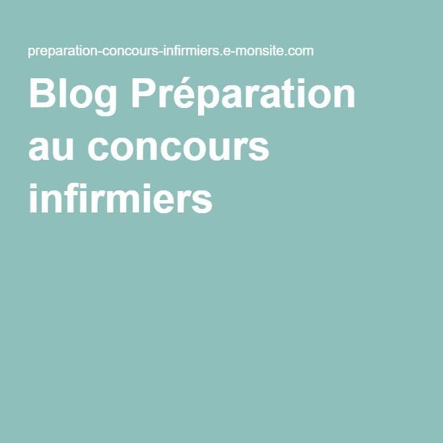 Blog Préparation au concours infirmiers