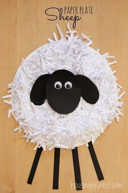 Make a Paper Plate Sheep | Community Post: 25 Paper Plate Crafts Kids Can Make