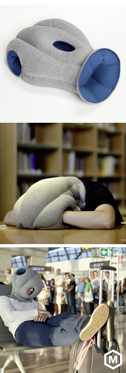 Ostrich Pillow - most days feel like an ostrich pillow day