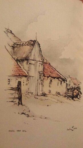 Huis Sil de Strandjutter / Anton Pieck